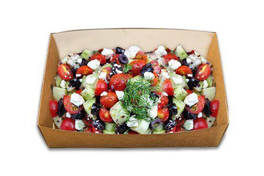 Greek salad sharing platter